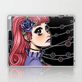 Pink Hair Gothic Lolita Laptop & iPad Skin
