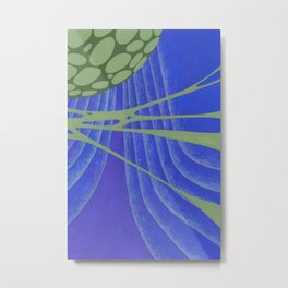 Green Mass Metal Print