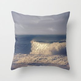 A Perfect Wave Throw Pillow