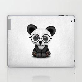 Cute Panda Bear Cub with Eye Glasses Laptop & iPad Skin
