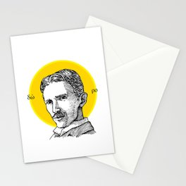 St. Tesla Stationery Cards