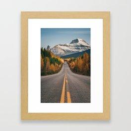 Fall in the Rockies Framed Art Print