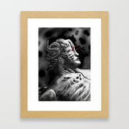 Regenerating Tyrant Framed Art Print