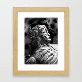 Regenerating Tyrant Framed Art Print
