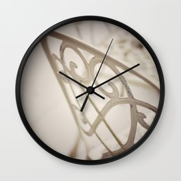 Patterns Of The Heart Wall Clock