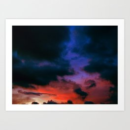 Sky- Love In Your Eyes Art Print