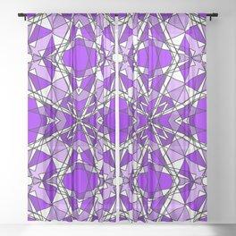 Purple Amethyst Sheer Curtain