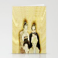 marx Stationery Cards featuring MARX BROTHERS - 004 by Lazy Bones Studios