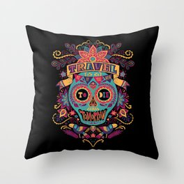 Travel As If You Were to Die Tomorrow - La Noche Throw Pillow