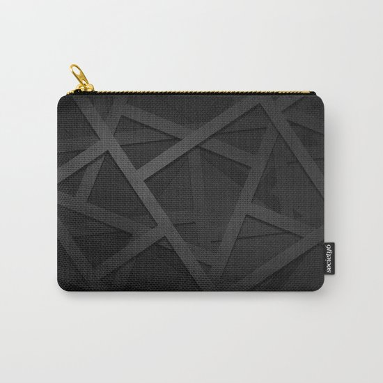 Black Web Carry-All Pouch