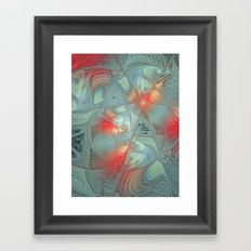 String Theory Fractal Art Framed Art Print