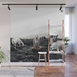 The White Sky VII Wall Mural