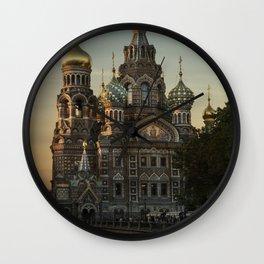Church of the Savior on Blood Wall Clock