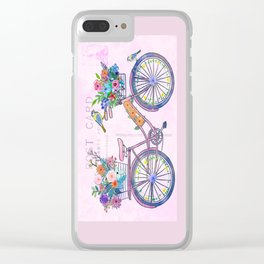 Postcard From Paris Clear iPhone Case