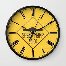 SPEED HUMP  Wall Clock