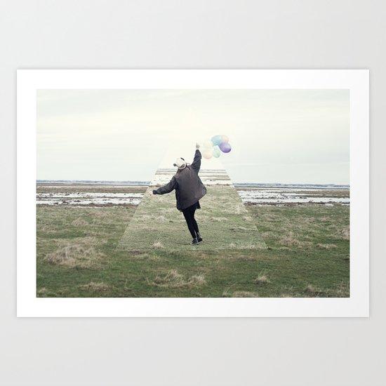 feel free Art Print