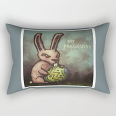 Evil Easter Bunny Rectangular Pillow
