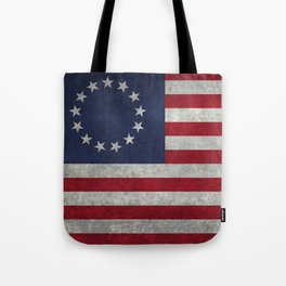 Betsy Ros Flag Tote Bag