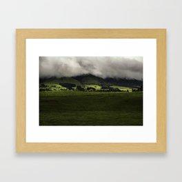 New Zealand Hills  Framed Art Print