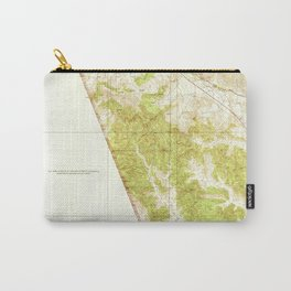 Gorman, CA from 1938 Vintage Map - High Quality Carry-All Pouch