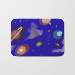 Space Story Bath Mat