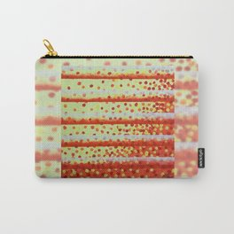 Horizontal Bars Carry-All Pouch