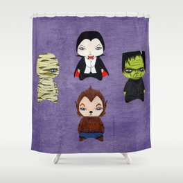 A Boy - Universal Monsters Shower Curtain