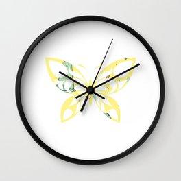 Butterfly 138 Wall Clock