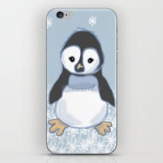 Frosty pinguin iPhone & iPod Skin