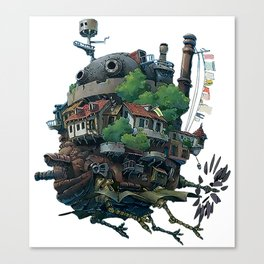 Studio Ghibli - Howl's Moving Castle Canvas Print