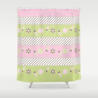 batik Shower Curtains featuring Batik  by Franciska Windy