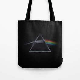 The Dark Side of The Ugly Christmas Sweater (Cool Dark Side of the Moon Music Parody) Tote Bag