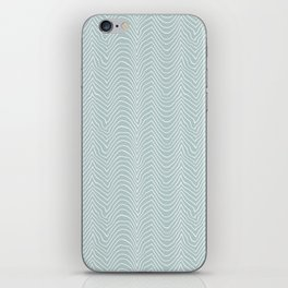 wiggly-sea iPhone Skin