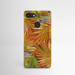 Tropical Leaves Abstract Android Case