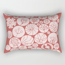 Botanical Forms Rectangular Pillow