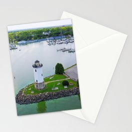 Lighthouse Harbor Stationery Cards
