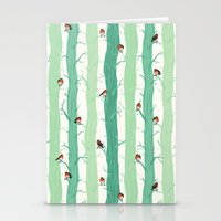 robin Stationery Cards featuring Robin by Karina R