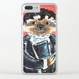 Fitzwillam Slothly Clear iPhone Case