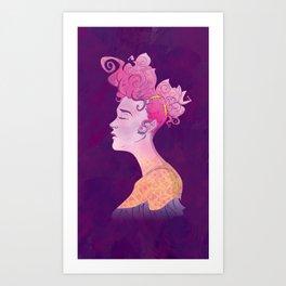 Rosé Wine Art Print
