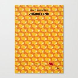 No829 My Zombieland minimal movie poster Canvas Print