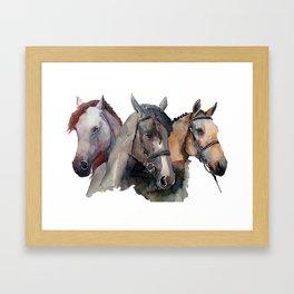 Horses #2 Framed Art Print