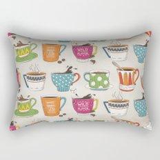 Happy Cup Rectangular Pillow