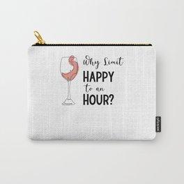 Wine Glass Wine Drinker Bar Bartender Wine Line Carry-All Pouch