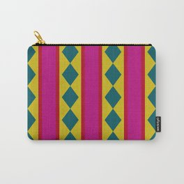 abstract hard edge triangle color Carry-All Pouch