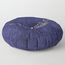 Deathshead Moth Floor Pillow