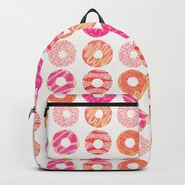 Half Dozen Donuts – Pink & Peach Ombré Backpack