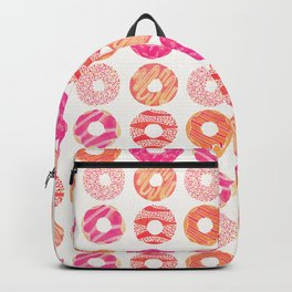Half Dozen Donuts – Pink & Peach Ombré Backpack