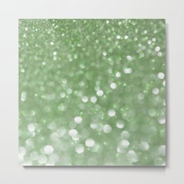 Holiday Mint Metal Print
