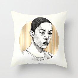 OITNB | Poussey Throw Pillow