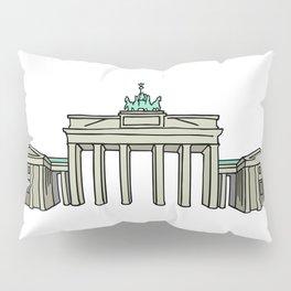Brandenburg Gate in Berlin Pillow Sham